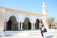 A visit to the Mosque