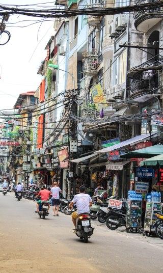 Street Hanoi