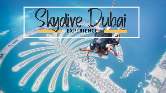 Skydive Dubai Experience
